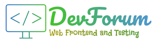 DevForum - Forum Web Frontend and Testing