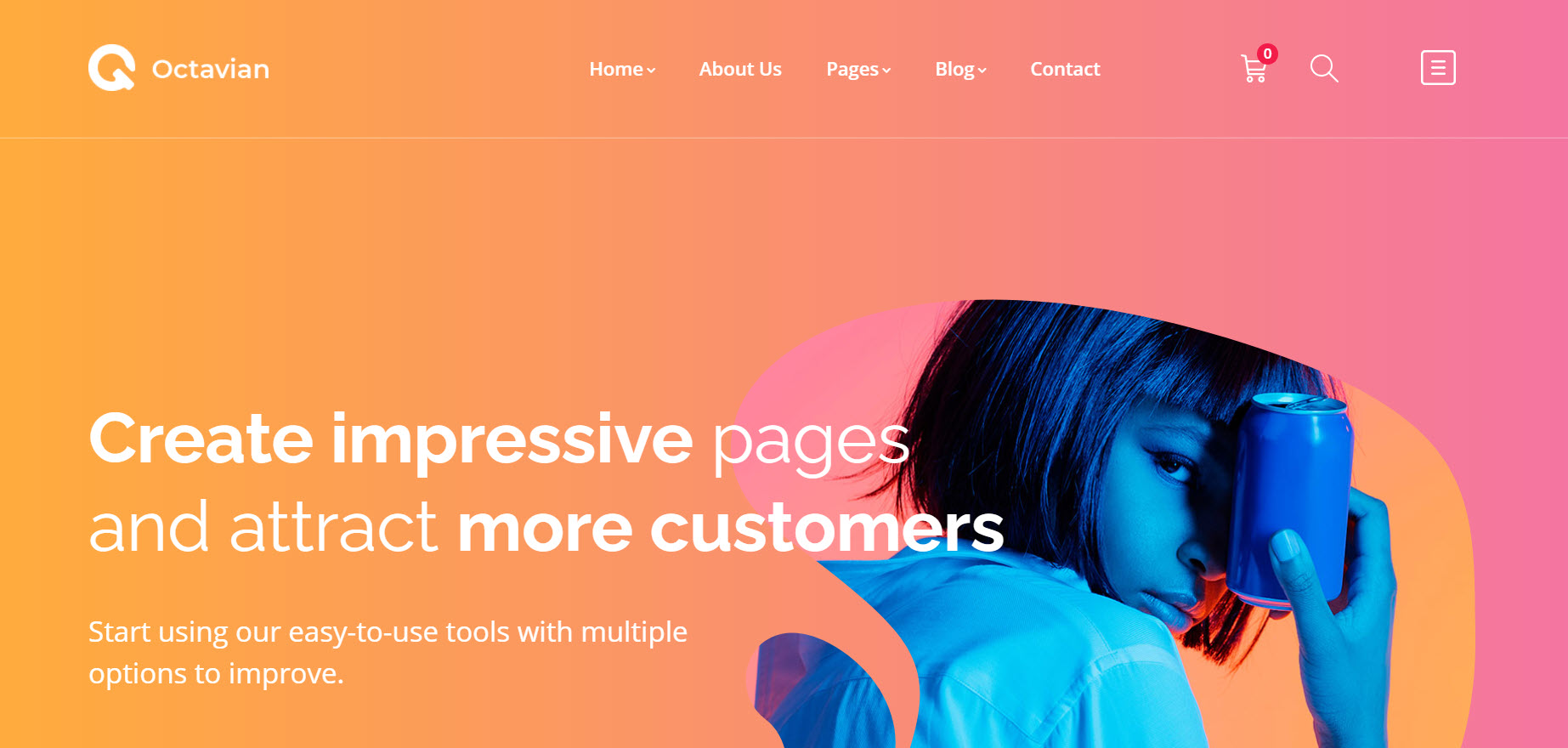 File PSD Template Landing Page Octavian Home 05