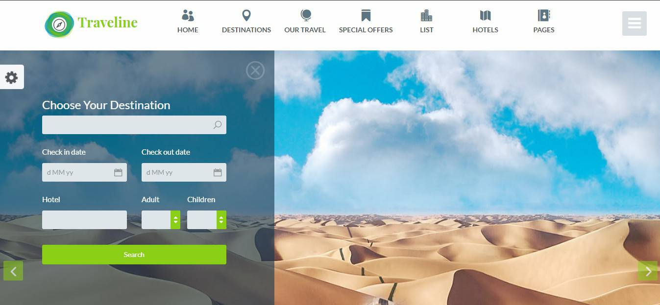 Traveline Travel Template